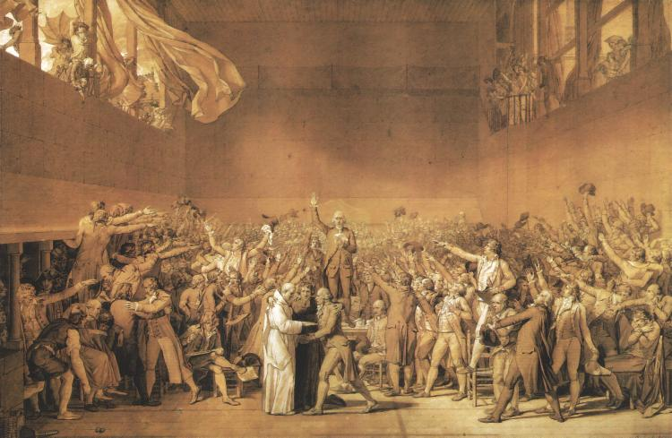 Painting: The Tennis Court Oath