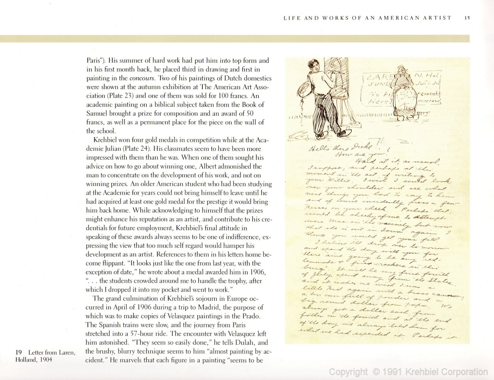 Page 15 of Krehbiel - Life and Works of an American Artist