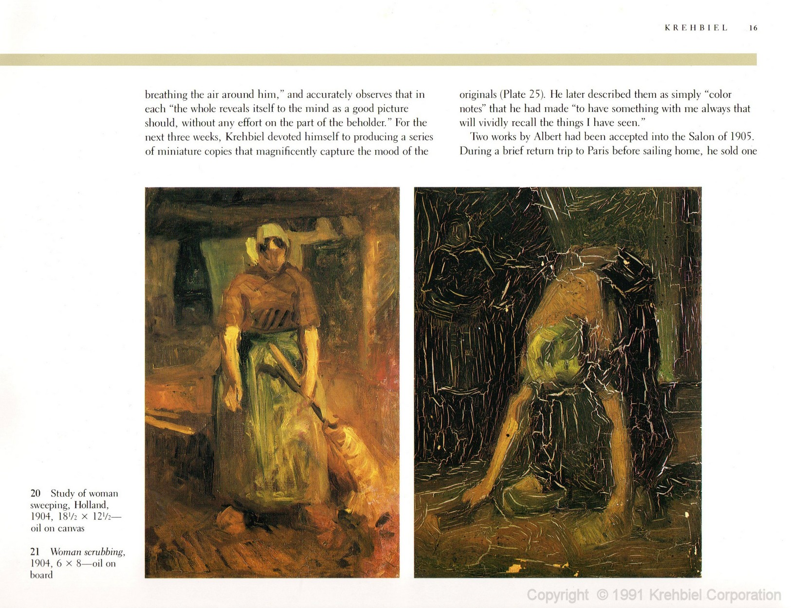 Page 16 of Krehbiel - Life and Works of an American Artist