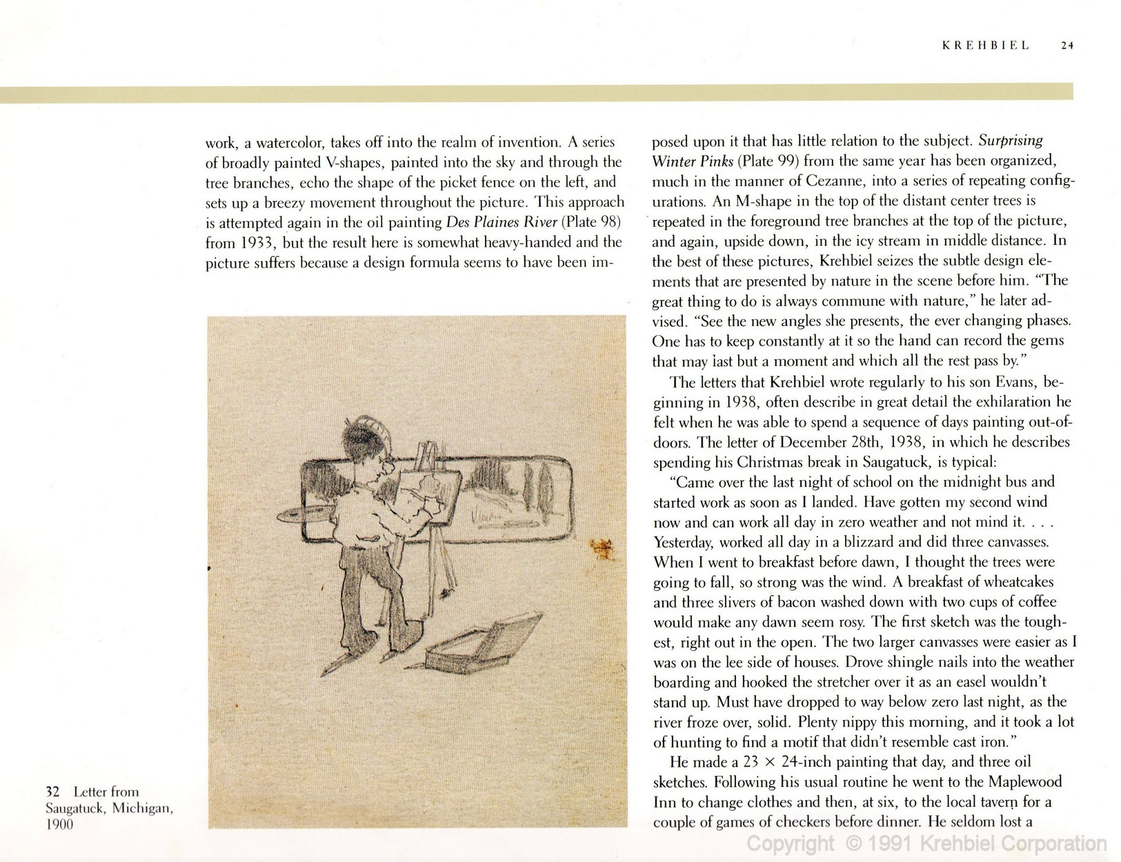 Page 24 of Krehbiel - Life and Works of an American Artist