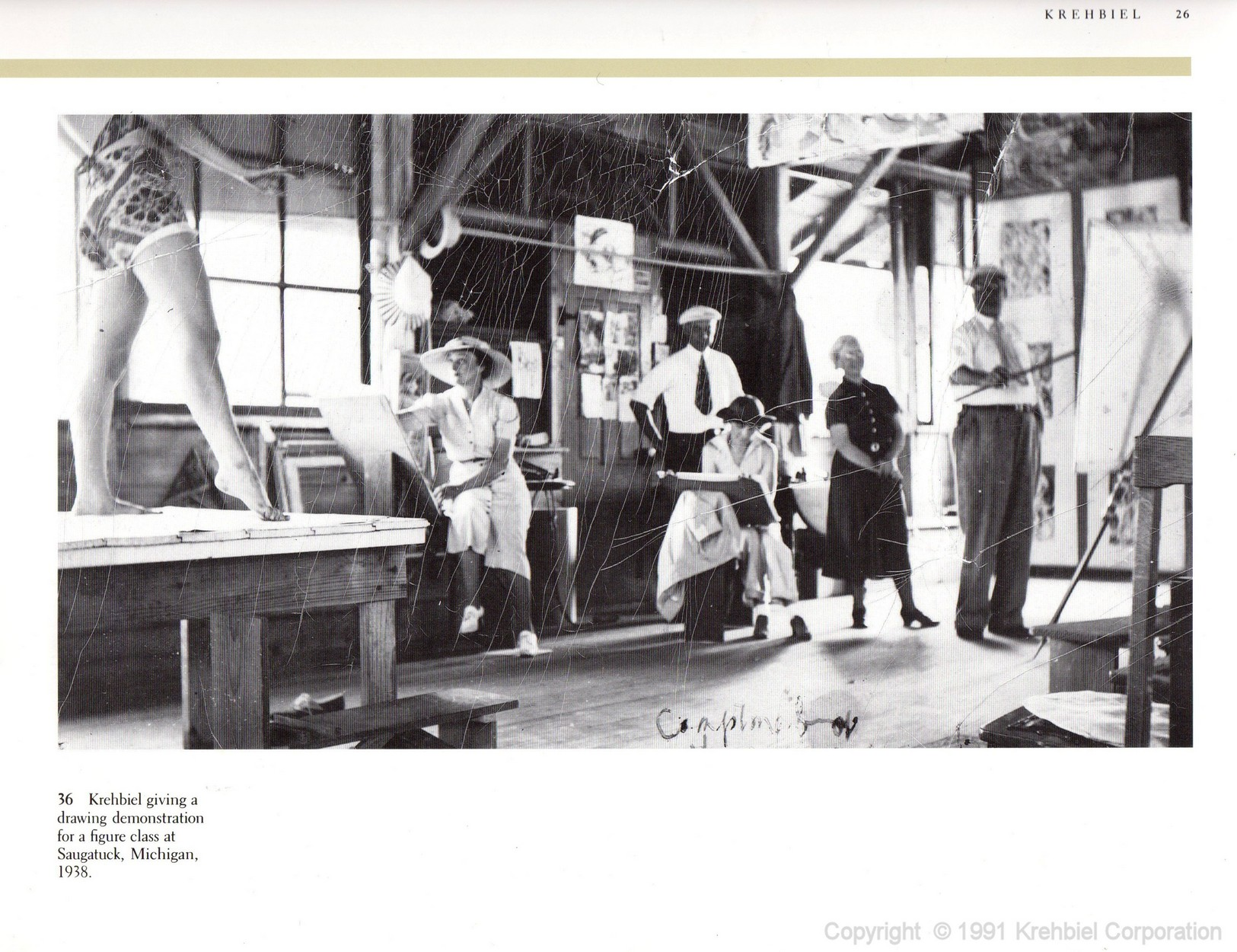 Page 26 of Krehbiel - Life and Works of an American Artist