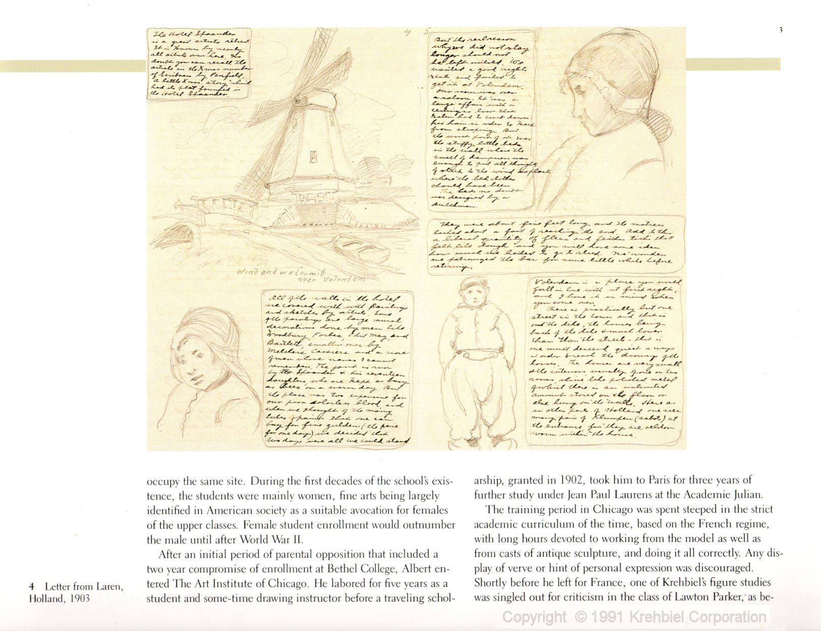 Page 3 of Krehbiel - Life and Works of an American Artist